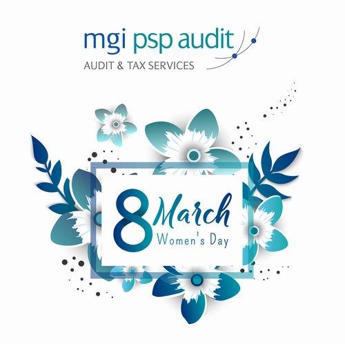 PSP Audit искренне поздравляет всех женщин с 8 марта!
