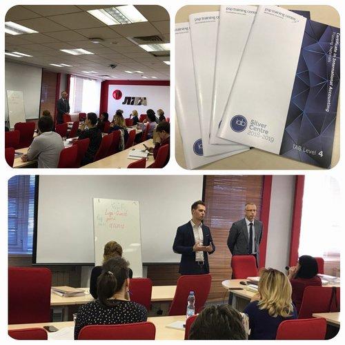 СТАРТОВАЛ весенний курс МСФО по программе Международной ассоциации бухгалтеров в Киеве