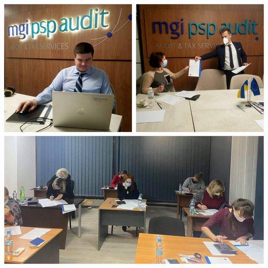 Проведение экзамена для слушателей осеннего курса обучения МСФО по программе Международной ассоциации бухгалтеров (Великобритания)