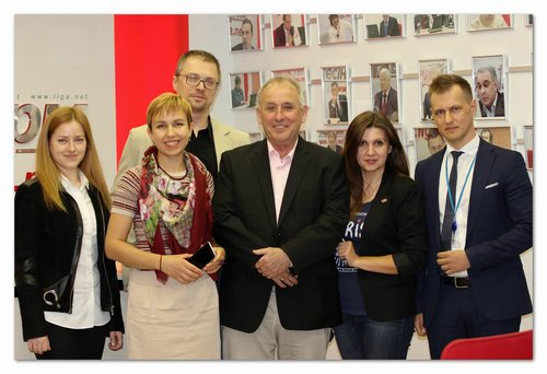 Деловая встреча с представителем Международной Ассоциации Бухгалтеров (IAB, Великобритания) в PSP Audit